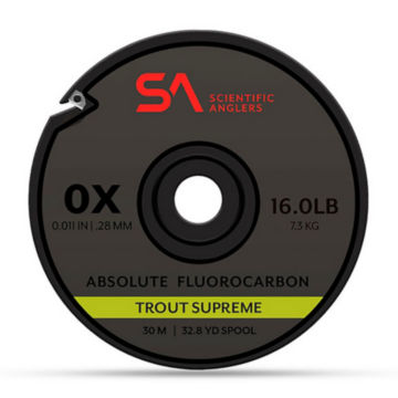 Absolute Trout Supreme Fluorocarbon Tippet -  image number 0