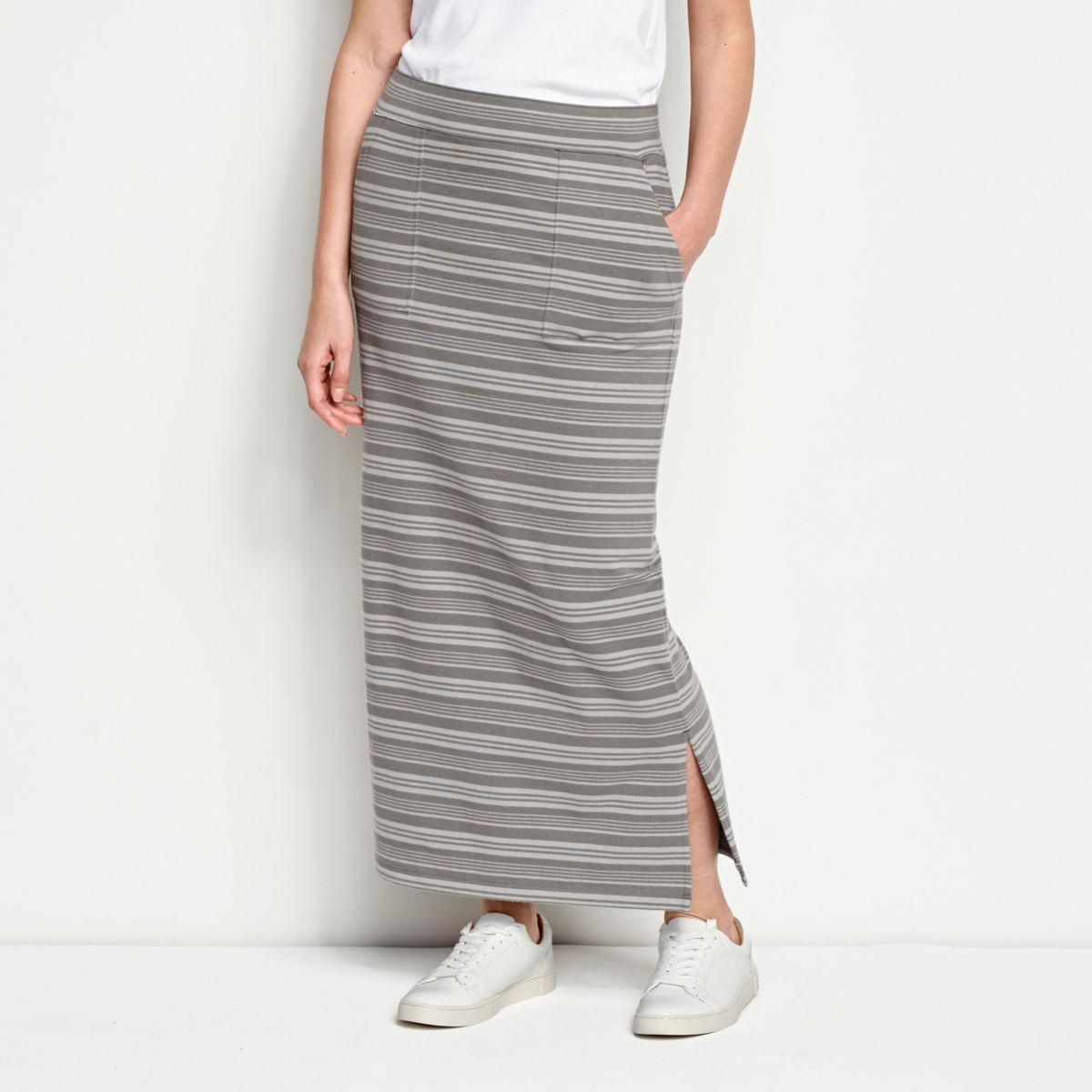 Sundown Striped Classic Cotton Skirt - image number 0