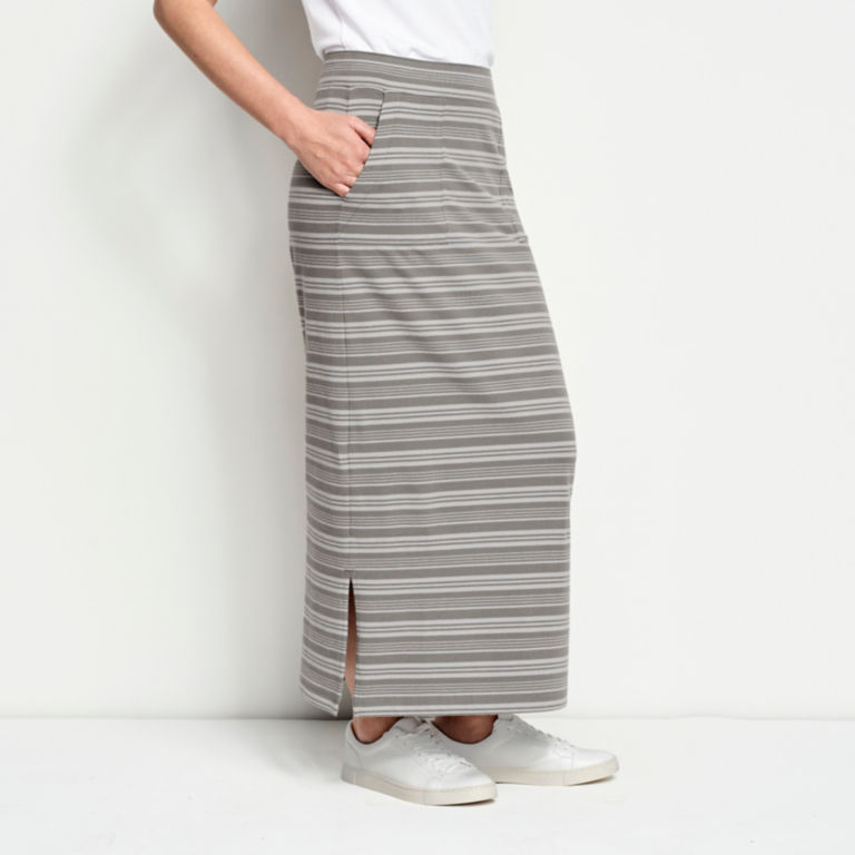 Sundown Striped Classic Cotton Skirt -  image number 1