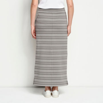 Sundown Striped Classic Cotton Skirt -  image number 2