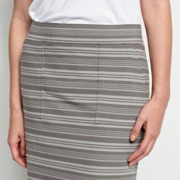 Sundown Striped Classic Cotton Skirt -  image number 3