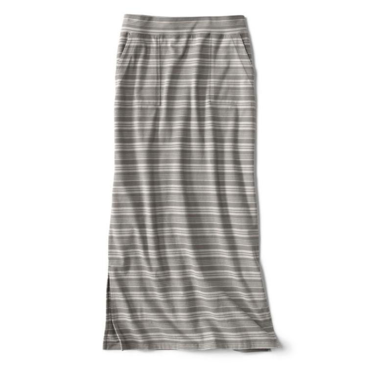 Sundown Striped Classic Cotton Skirt -  image number 4