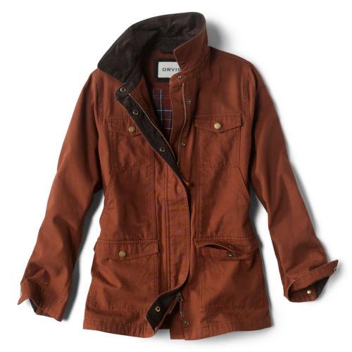 A warm brown barn jacket