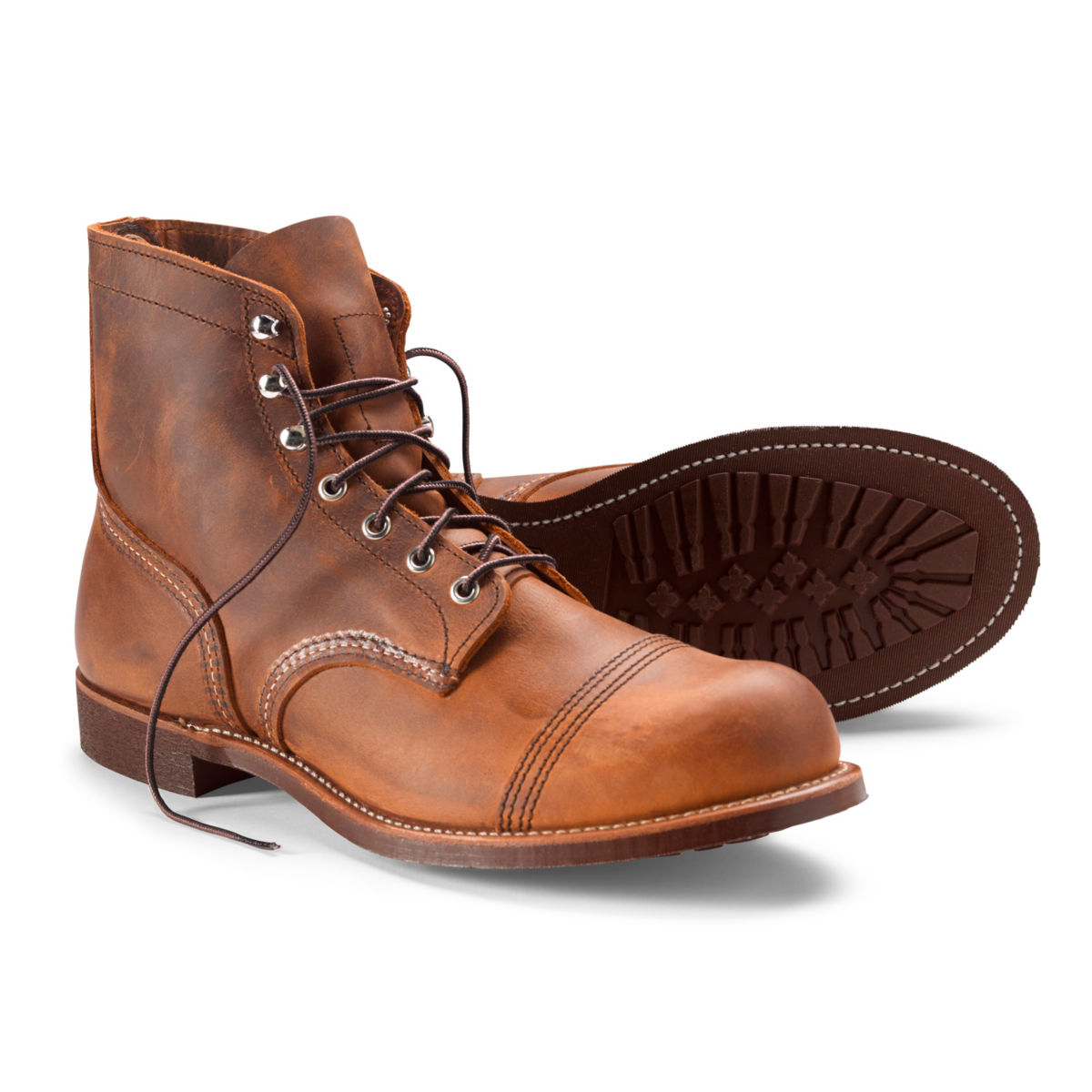 Red Wing® Iron Ranger Copper Rough & Tough Boots - COPPERimage number 0
