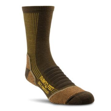 Farm To Feet® Damascus Three-Quarter Crew Socks -