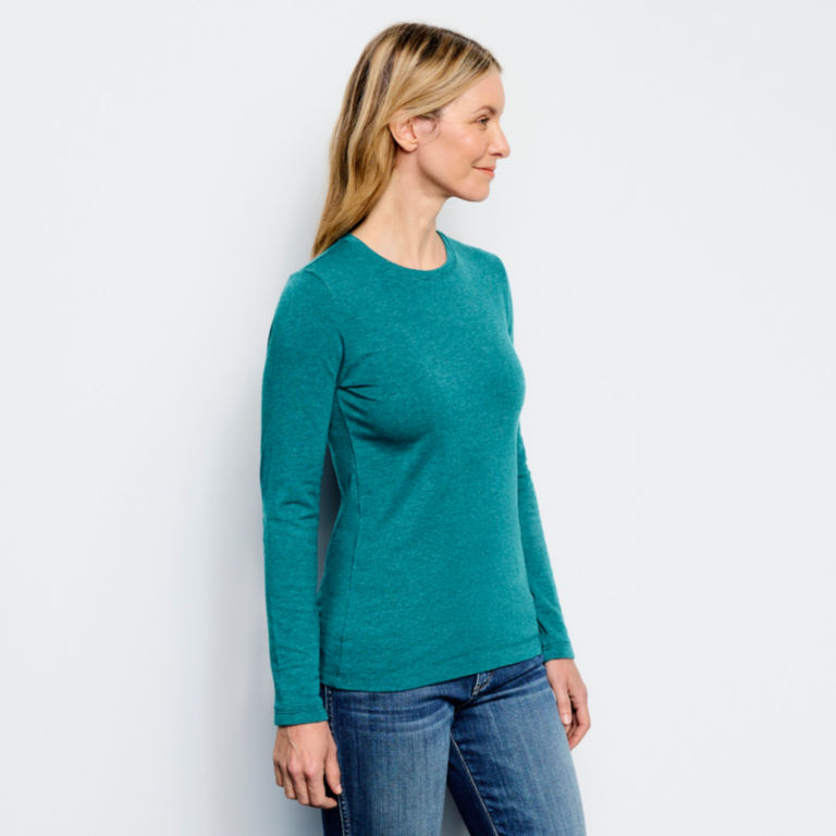 Perfect True Crew Long-Sleeved Tee -  image number 1