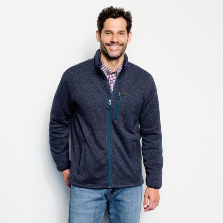 Recycled Sweater Fleece Jacket -  image number 1