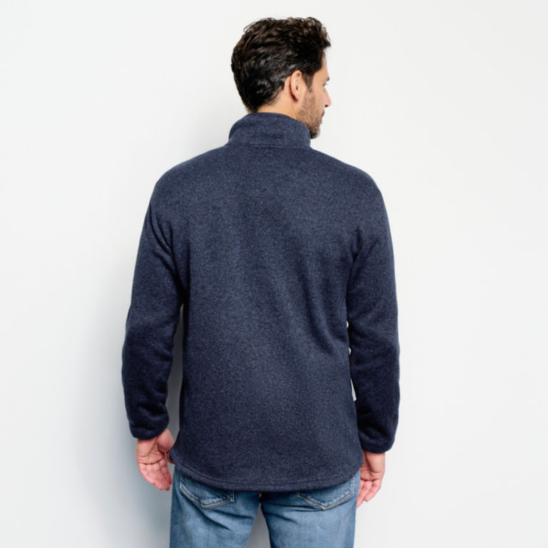 Recycled Sweater Fleece Jacket -  image number 3