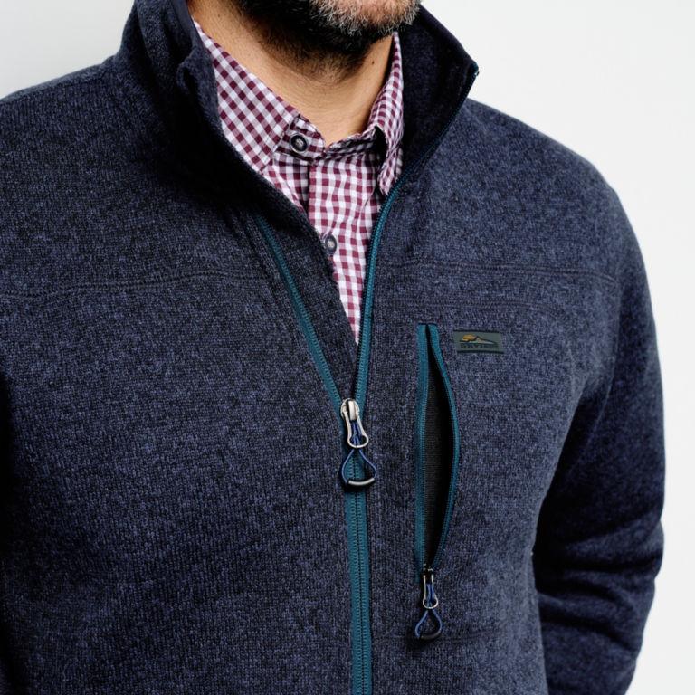 Recycled Sweater Fleece Jacket -  image number 4