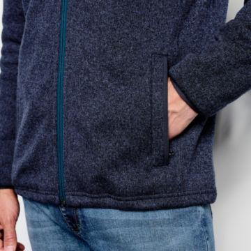 Recycled Sweater Fleece Jacket -  image number 5