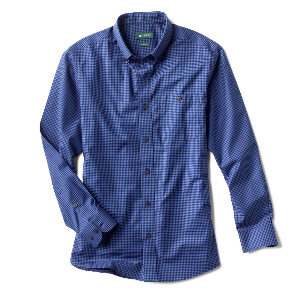 Buffalo-Check Wrinkle-Free Comfort Stretch Shirt - image number 0