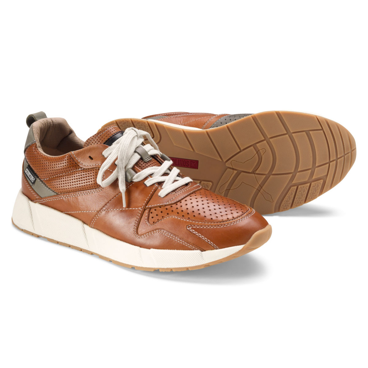 Pikolinos® Burnished Leather Sneakers - image number 0