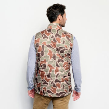 Camo Recycled Drift Vest - BROWN CAMO image number 3