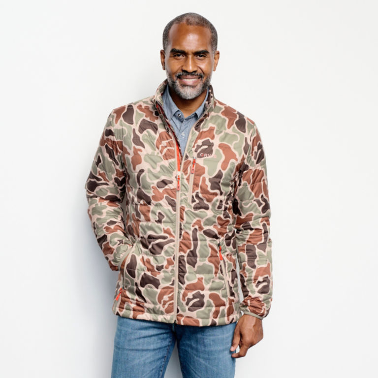 Camo Recycled Drift Jacket - BROWN CAMO image number 1