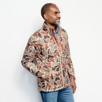 Camo Recycled Drift Jacket - BROWN CAMO image number 2