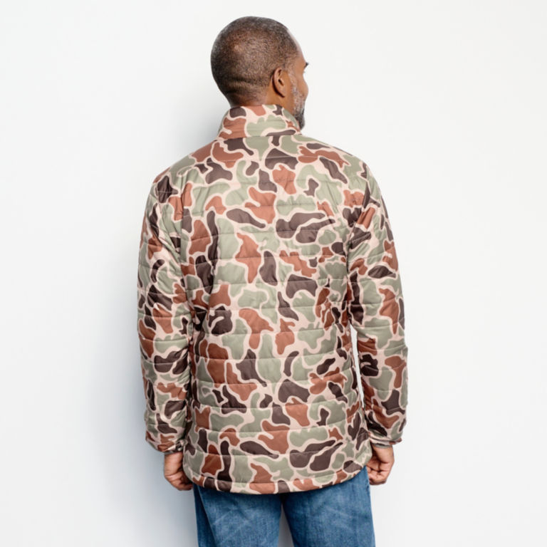 Camo Recycled Drift Jacket - BROWN CAMO image number 3