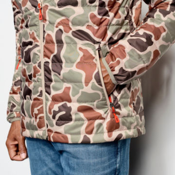 Camo Recycled Drift Jacket - BROWN CAMO image number 4
