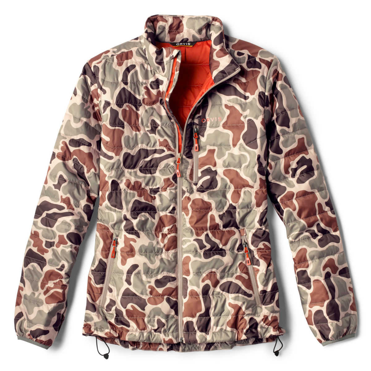 Camo Recycled Drift Jacket - BROWN CAMOimage number 0