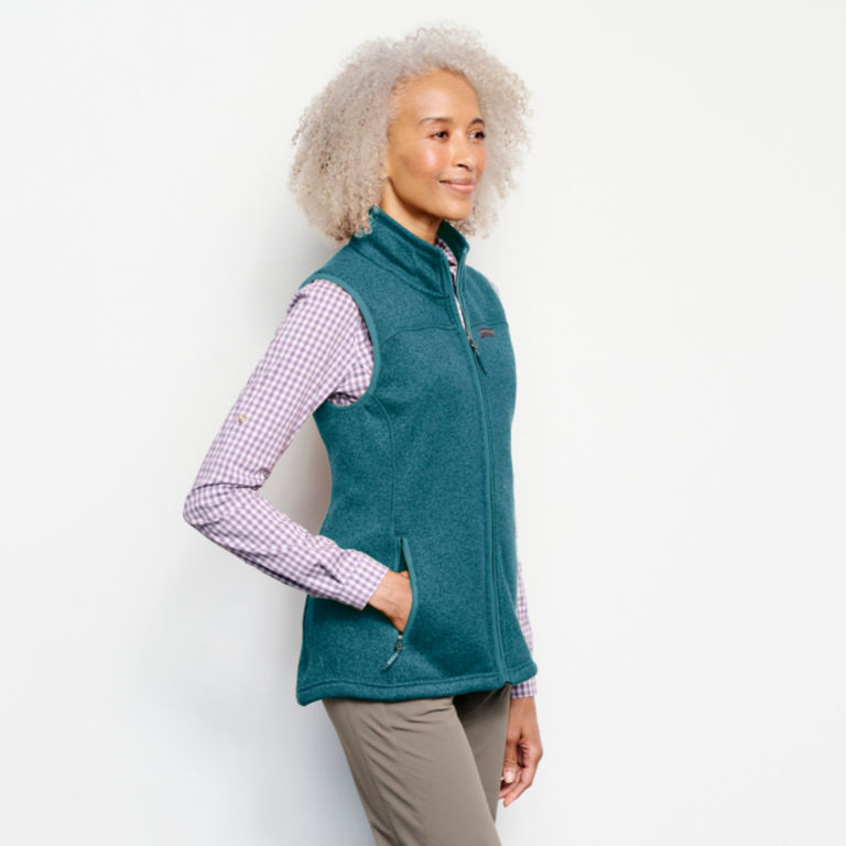 Recycled Sweater Fleece Vest -  image number 1