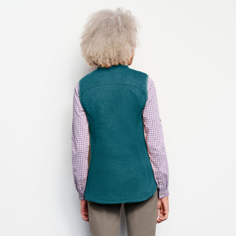 Recycled Sweater Fleece Vest -  image number 2