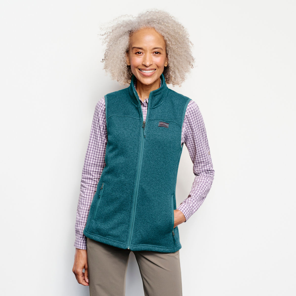 Recycled Sweater Fleece Vest - image number 0
