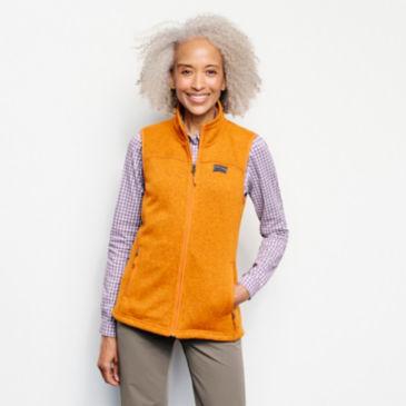 Recycled Sweater Fleece Vest -