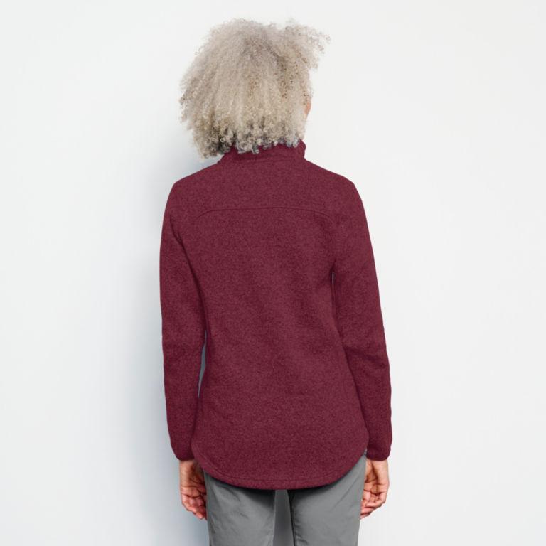 Recycled Sweater Fleece Jacket -  image number 2