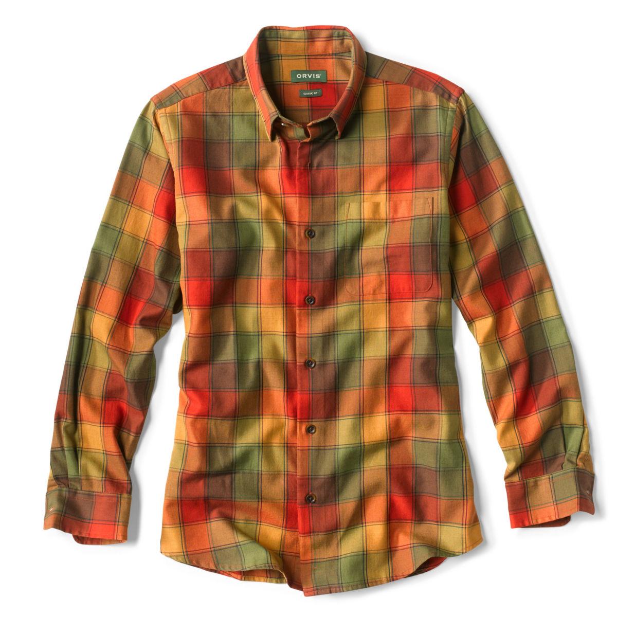 Tri-Blend Plaid Long-Sleeved Shirt - image number 0