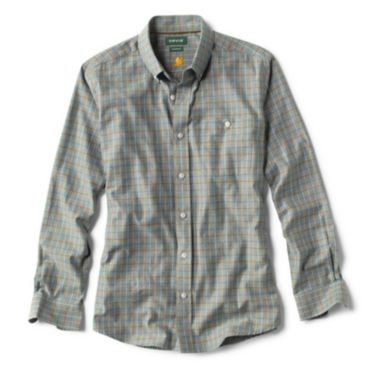 Country Twill Long-Sleeved Button-Down Shirt -