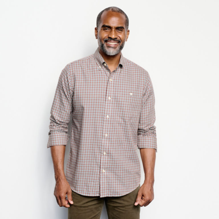 Country Twill Long-Sleeved Button-Down Shirt -  image number 5
