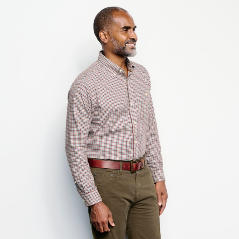 Country Twill Long-Sleeved Button-Down Shirt -  image number 2
