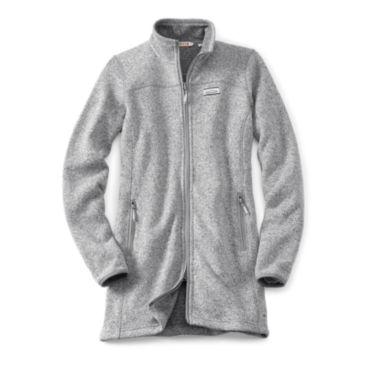 Sweater Fleece Coat -