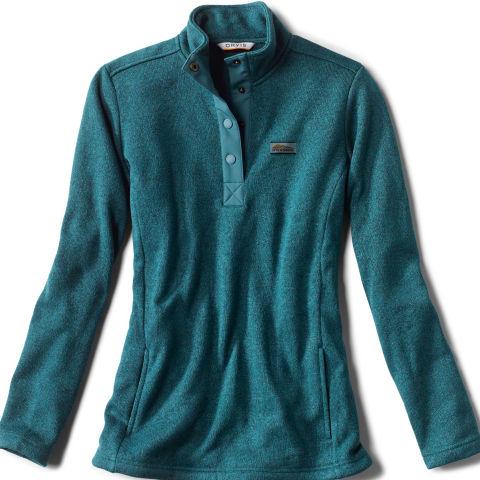 close up of sweater fleece