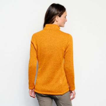 Recycled Sweater Fleece Quarter-Snap Tunic -  image number 2