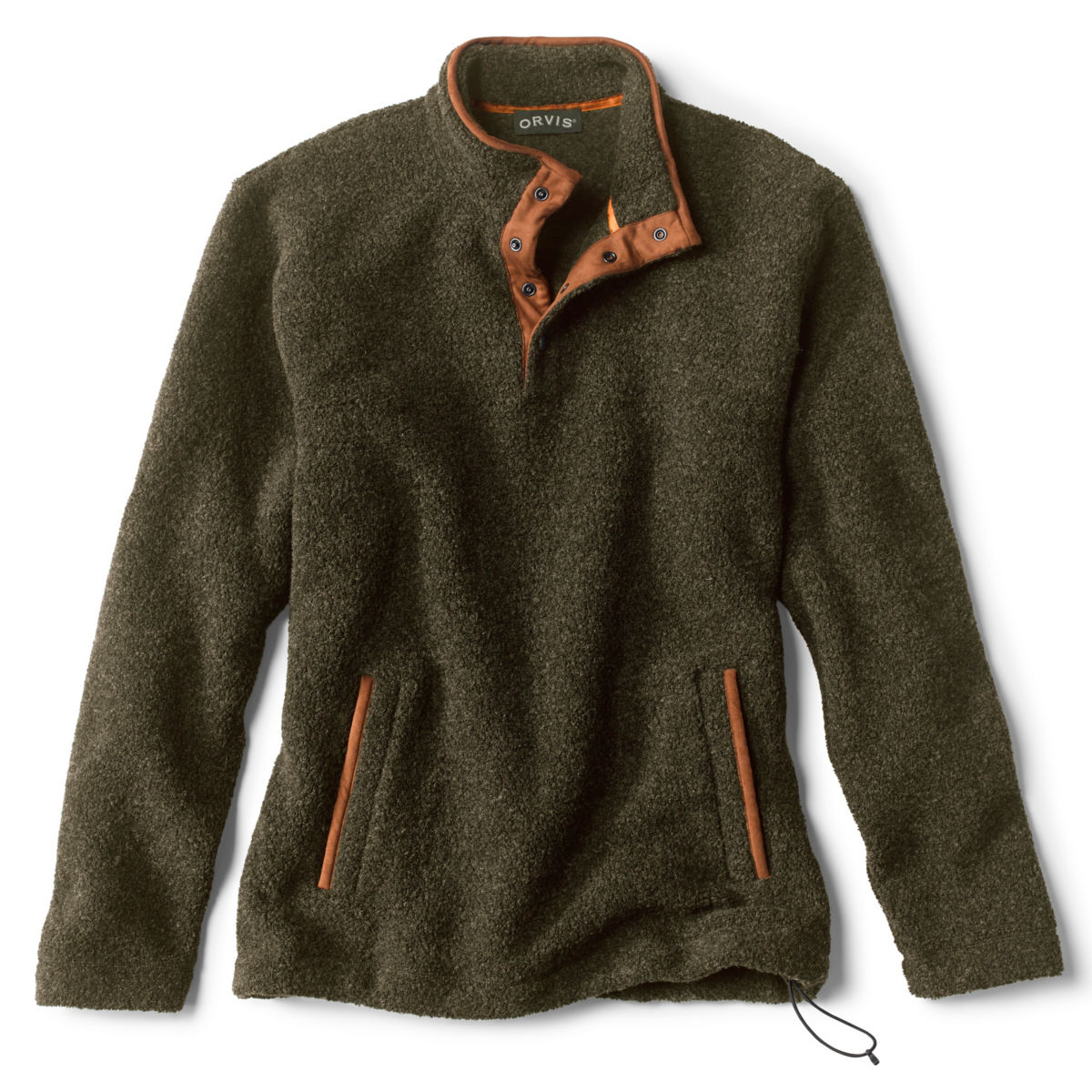 Equinox Sherpa Wool Quarter-Snap Pullover - image number 0