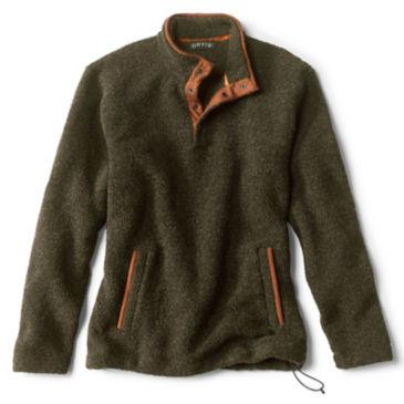 Equinox Sherpa Wool Quarter-Snap Pullover -