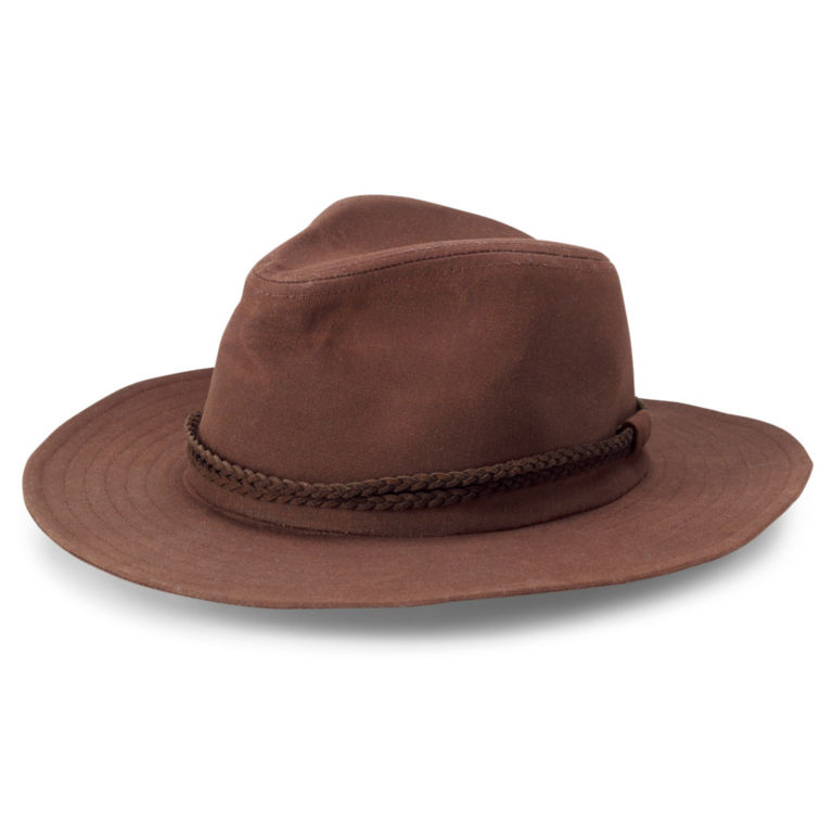 River Road Waxed Cotton Hat - RYE image number 0