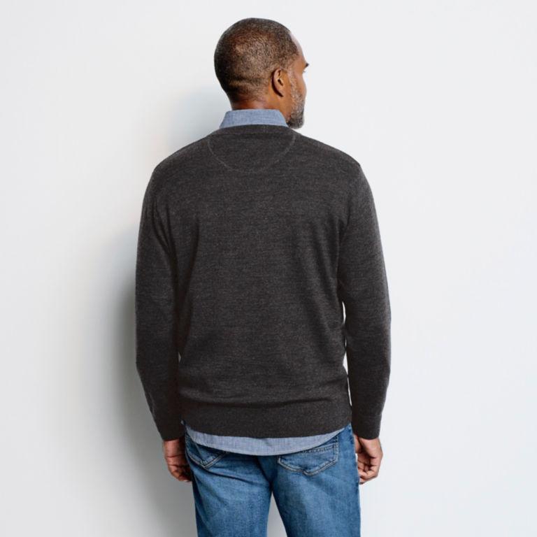 Merino V-Neck Long-Sleeved Sweater -  image number 3