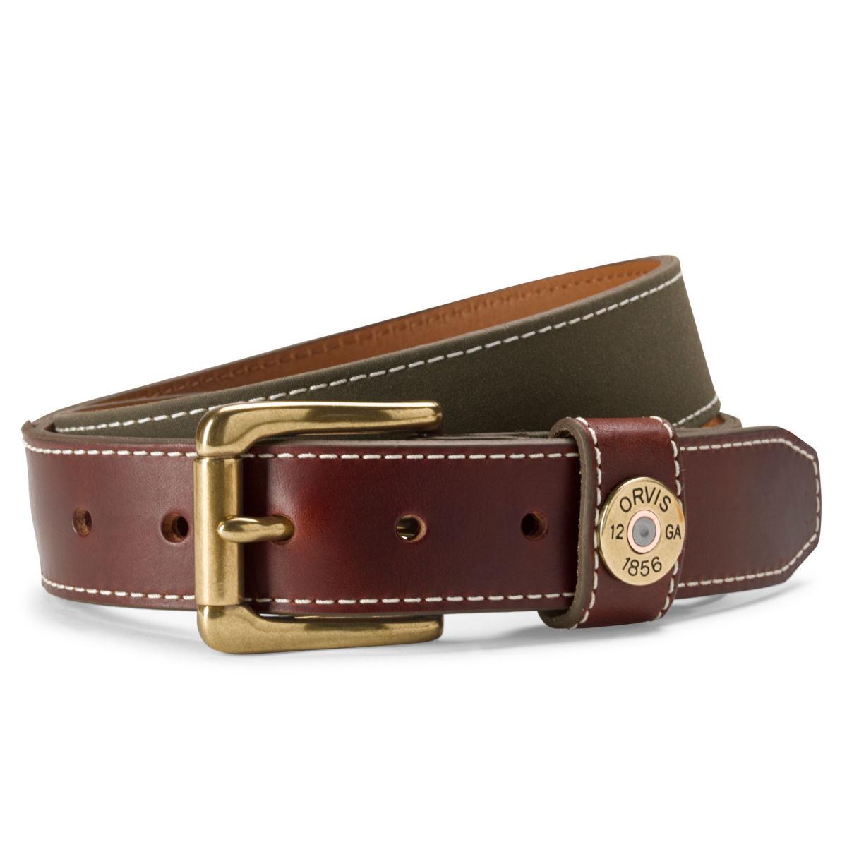 Waxed Canvas Shotshell Belt - OLIVEimage number 0