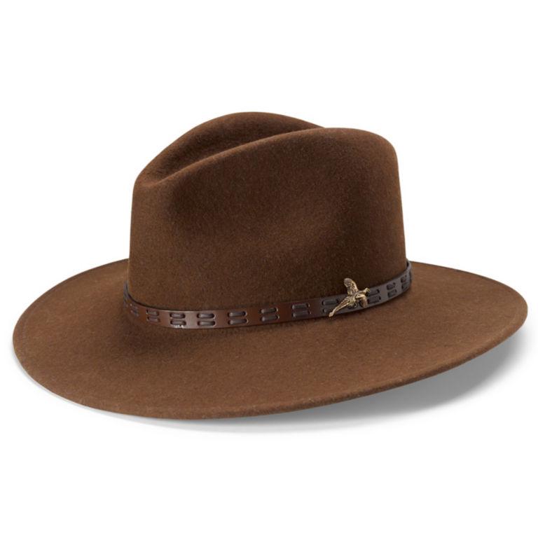 Sandanona Crushable Felt Hat - CHOCOLATE image number 0
