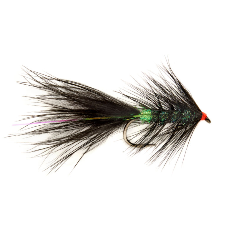 Barbless Roza's Black And Green Streamer -  image number 0