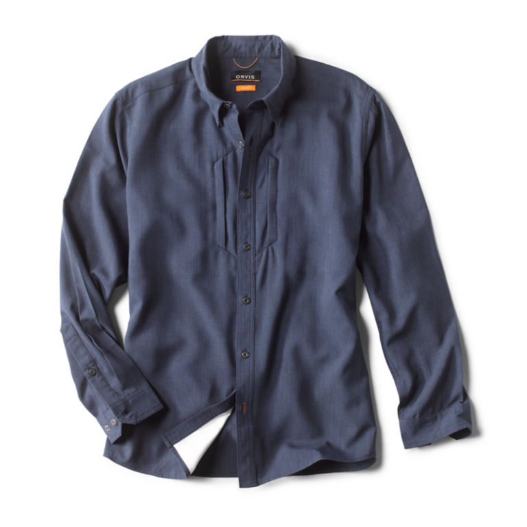 Gunnison Tech Chambray Long-Sleeved Shirt -  image number 0