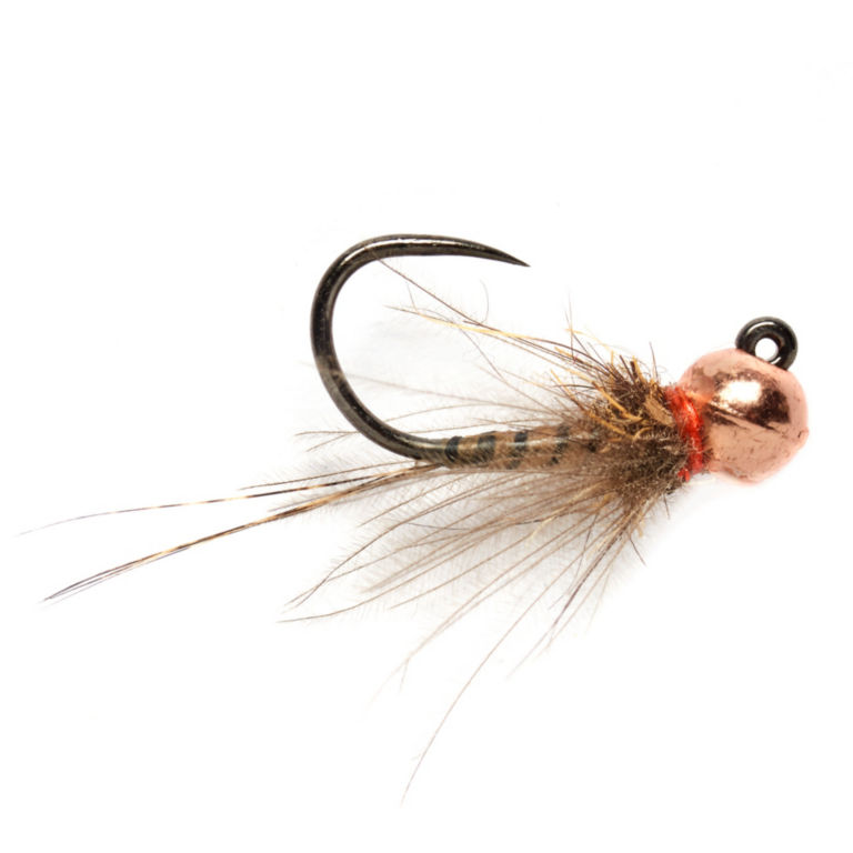 Barbless Croston's Thread Quill Copper Bead -  image number 0