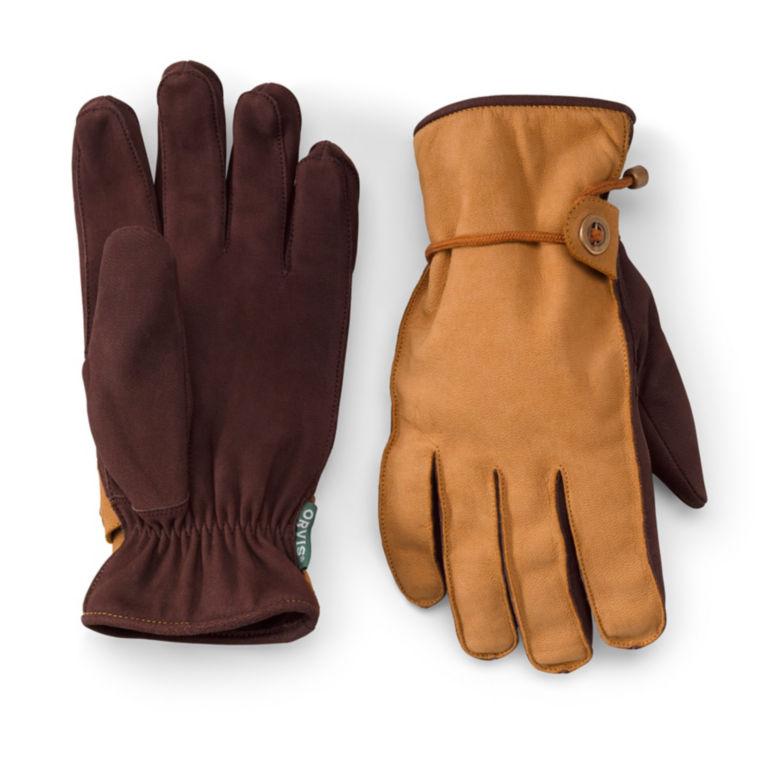Caroga Nubuck Gloves - TAN image number 0