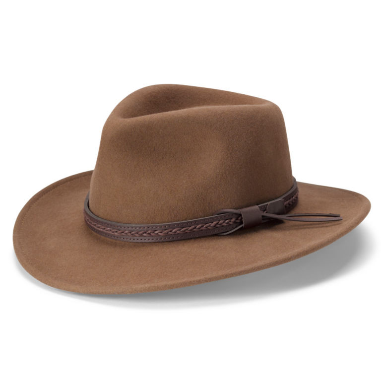 Bell Bluff Wool Felt Hat - PECAN image number 0