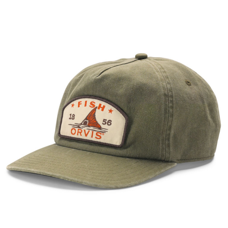 Fish Orvis Hat - GREEN image number 0