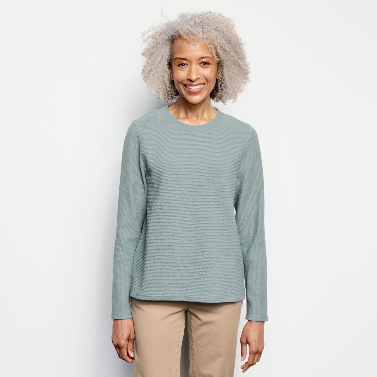 Textured Crew Sweatshirt - image number 0