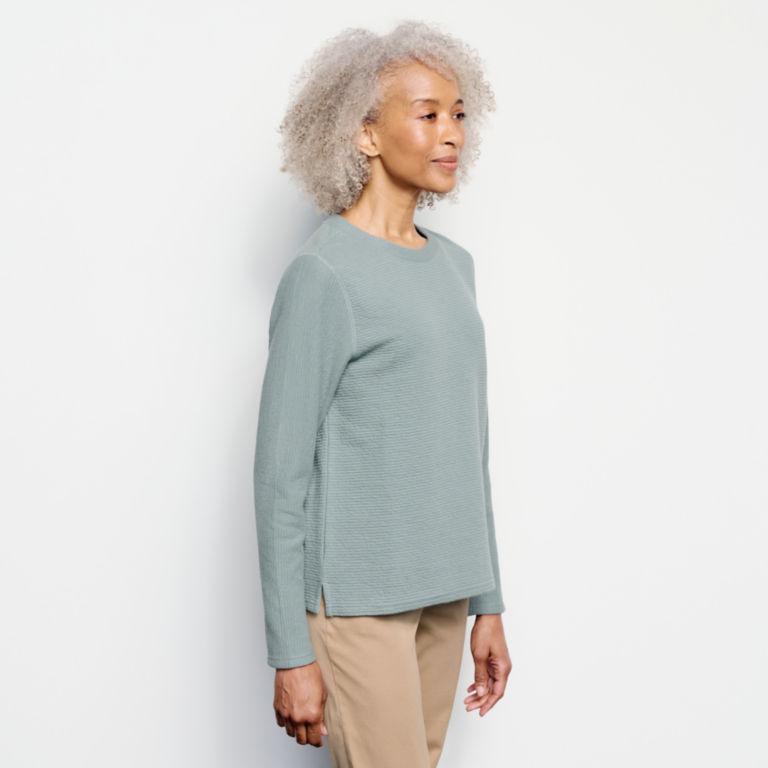 Textured Crew Sweatshirt -  image number 1