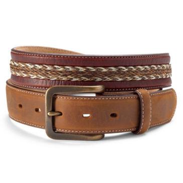 Bison and Horsehair Belt -