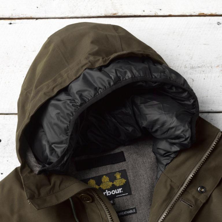 Barbour® Arctic Parka Jacket - OLIVE image number 2